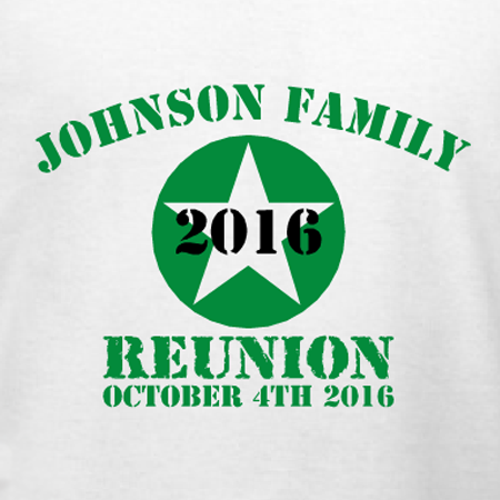 military themed family reunion t shirt template customize this for your family reunion in our design studio choose from tons of apparel options and sizes