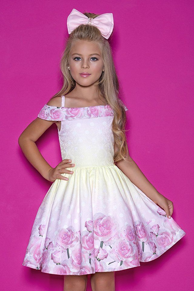 04187004e Vestido Infantil Diforini Moda Infanto Juvenil 010848 - comprar online