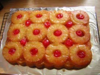 Pineapple Supreme Cake Recipe On Duncan Hines Box Upside Down