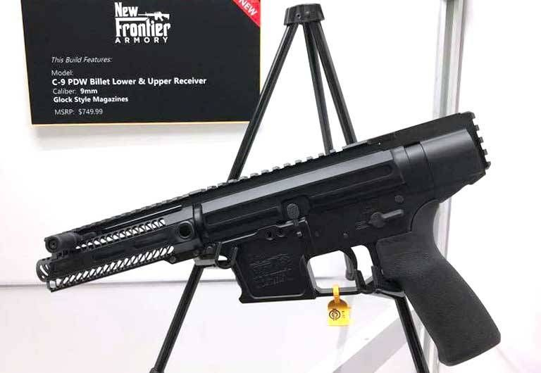 New Frontier Armory C-9 PDW Pistol Caliber Carbine  | The