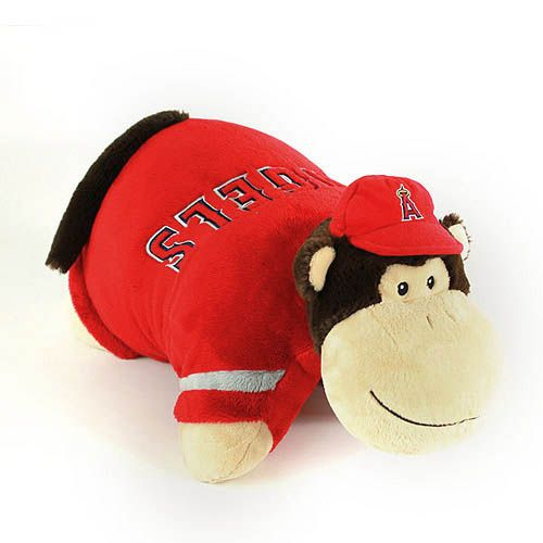 Los Angeles Angels Of Anaheim Pillow Pet Animal Pillows Angels Baseball Angel Kids