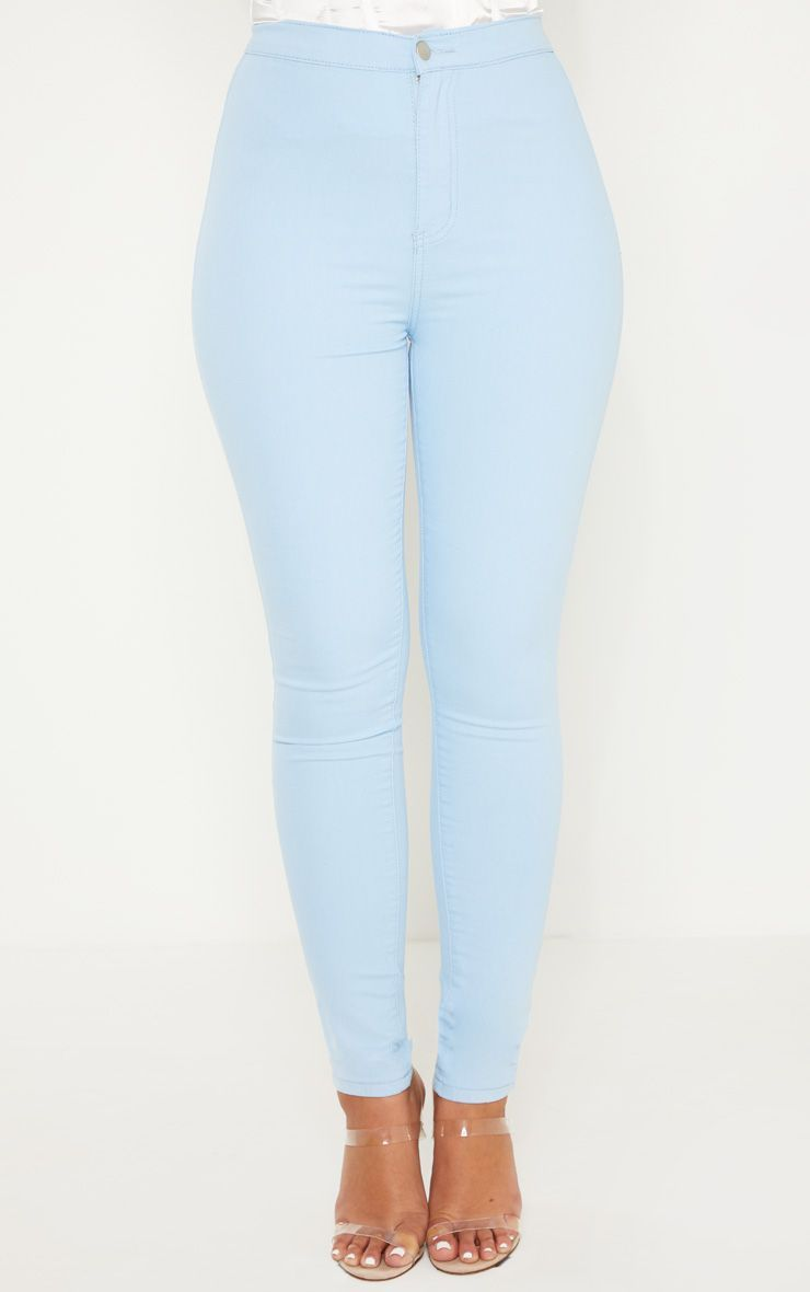 2546755c1ed7c Light Wash Denim Jegging in 2019 | Products | Trouser jeans ...