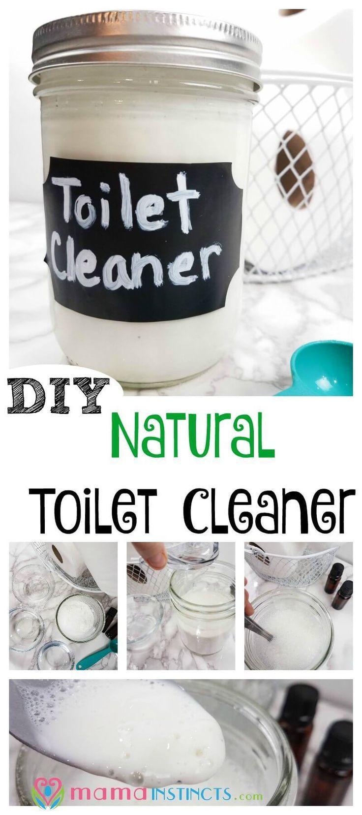 Diy natural toilet cleaner natural toilet cleaner