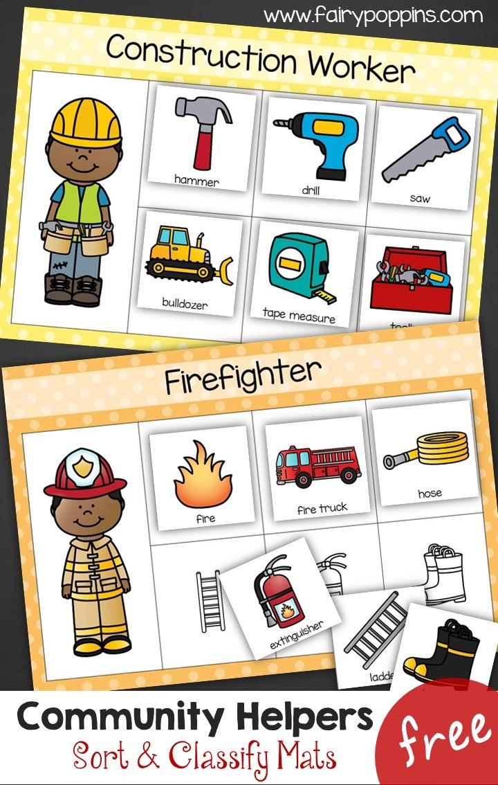 photo relating to Memory Community Helpers Free to Printable Coloring Pages identified as Regional Helpers - Style Clify Mats Novices