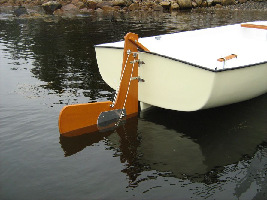 sailboat rudder design | Most Common Modified Sailboat Parts