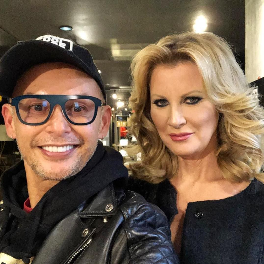 Erwin Makeup And Victor Hair Loved Getting Sandra Lee Ready For The