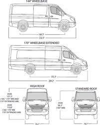 Image Result For Long Wheelbase Van Measurements Sprinter Van