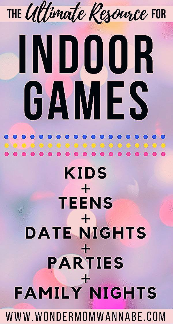 Indoor Games for All Ages