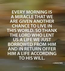 Thank You Lord For Another Beautiful Day Good Morning Jesus Is