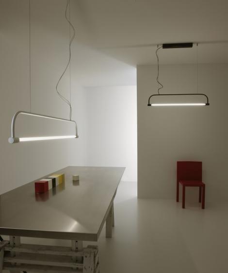 T-five wisząca (Biała, Duża) - Vesoi | Designerskie Lampy & Oświetlenie LED