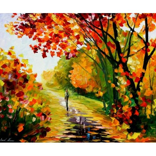 After the Rain by Leonid Afremov.
