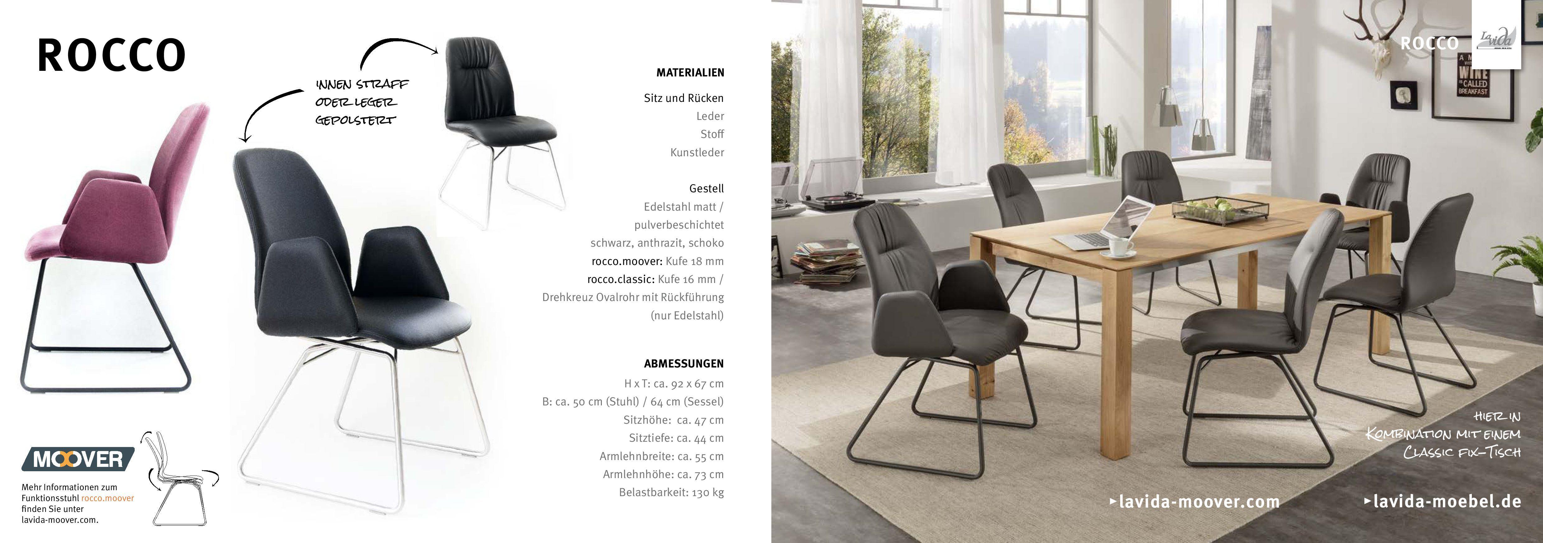 La Vida Stuhl Rocco Designermobel Von Raum Form Stuhle Freischwinger Design