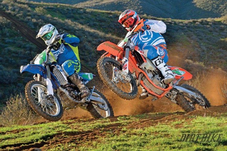 Off Road Shootout Ktm 250xcf Vs Yamaha Yz250fx Dirt Bike