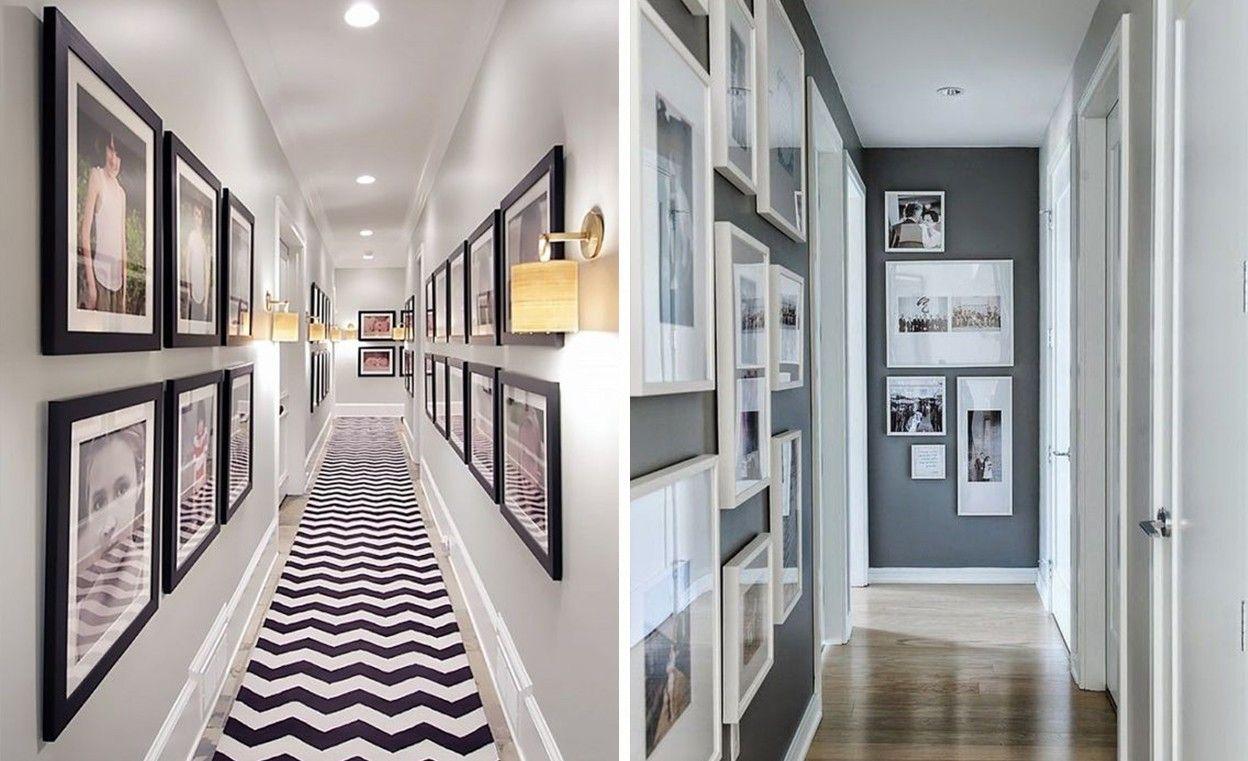 Как украсить узкий коридор в квартире фото