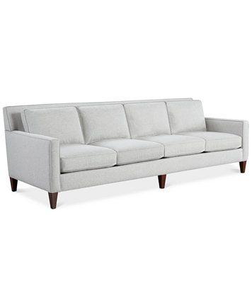 Kenford Four Seater Fabric Sofa Created For Macy S Macys Com