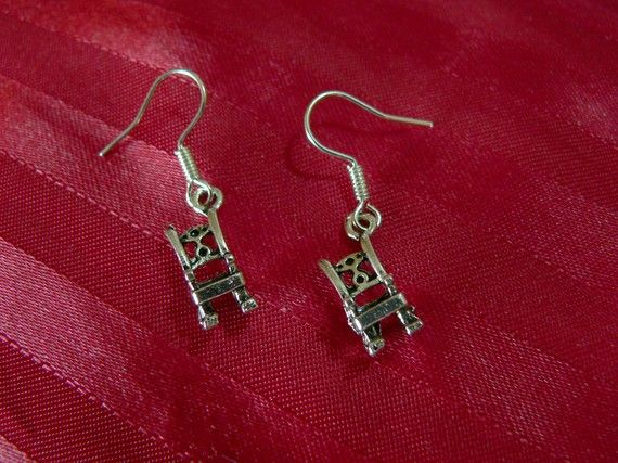 Rocking Chair Earrings Earrings Rocking Chair Drop Earrings