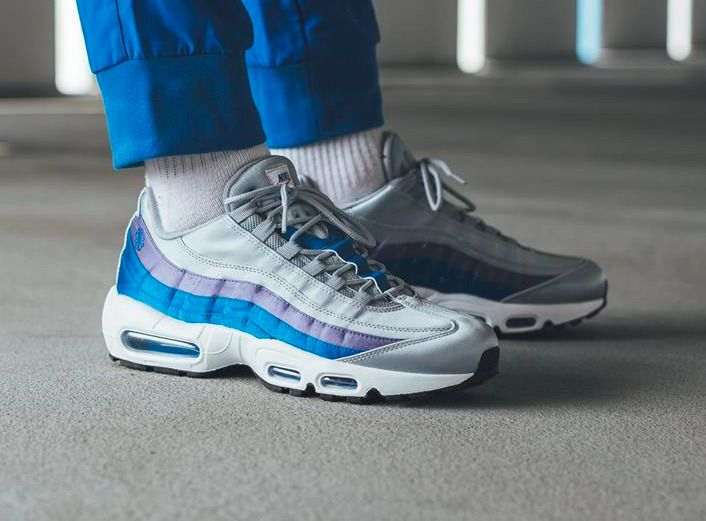 NIKE AIR MAX 95 SE -  SATIN  GREY 94739b797