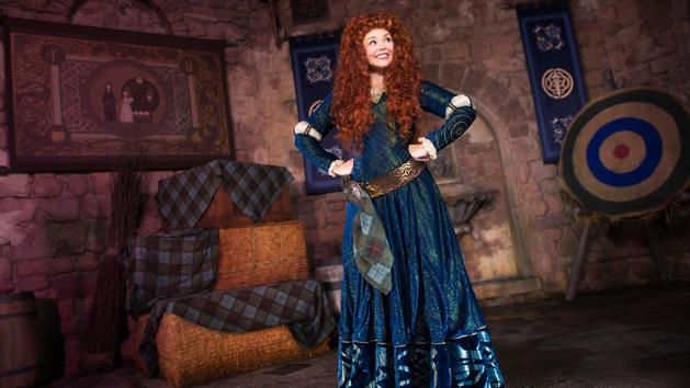 Merida at Walt Disney World