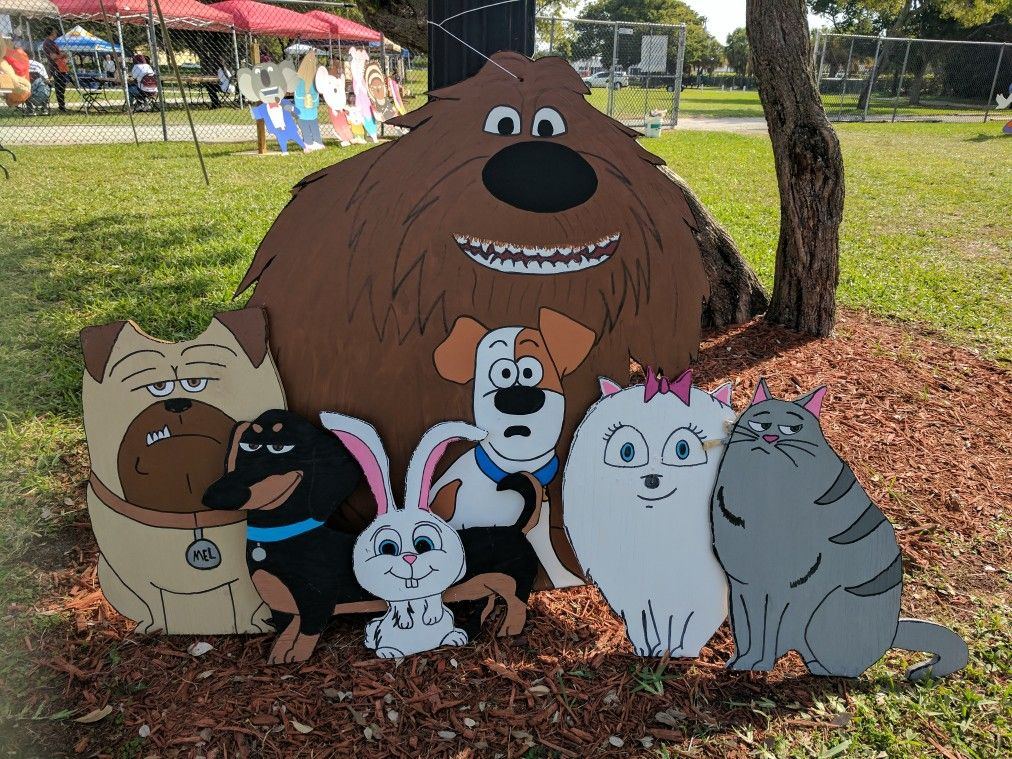 Secret Life Of Pets Props Animal Birthday Animal Party 2nd
