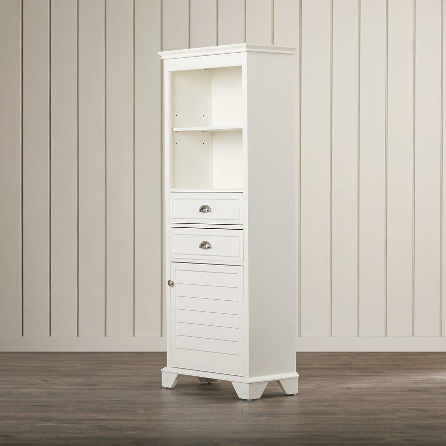 Crenshaw 2 Drawer Tall Accent Cabinet Tall Cabinet Storage Linen Cabinet Inside Cabinets