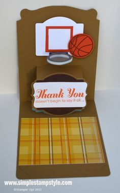 Simple Creative Basketball Diy Birthday Cards Google Search