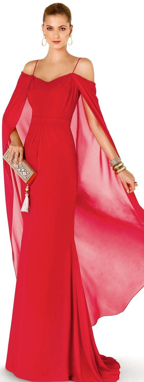 ROJO....❤: | Vestidos fiesta | Pinterest | Rojo, Vestidos fiestas y ...
