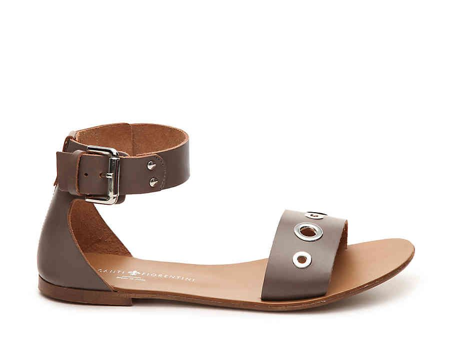 4d506772ef3e Mercanti Fiorentini Leather Grommet Sandal. Mercanti Fiorentini Leather  Grommet Sandal Gladiator Sandals ...