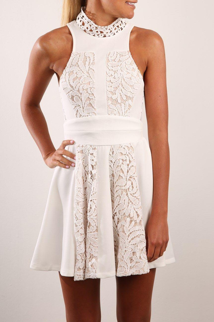 6e2a7279a40 Liliana Dress White