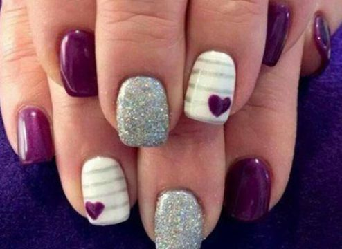 18 Chic Nail Designs For Short Nails All Things I Love Pinterest