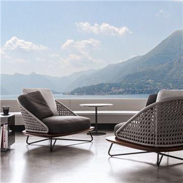 Minotti Rivera Armchair Large Style Riveraarmchair Modern Outdoor Lounge Chairs Modern Patio Furniture Modern Outdoor Furniture Outdoor Furniture Design