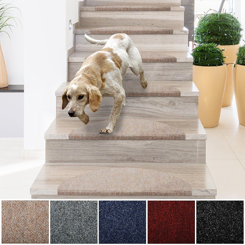 Best Casa Pura Stair Treads Non Slip Indoor Stair Protectors 400 x 300