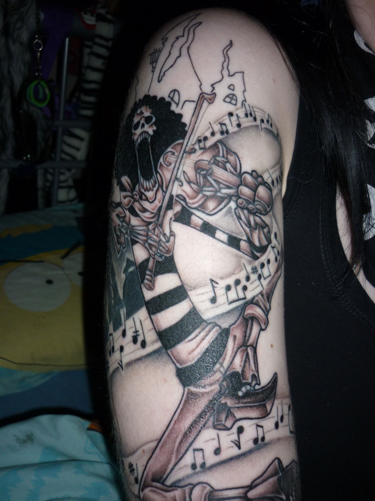 Brook from One Piece tattoo | Tattoos | Pinterest | One ...