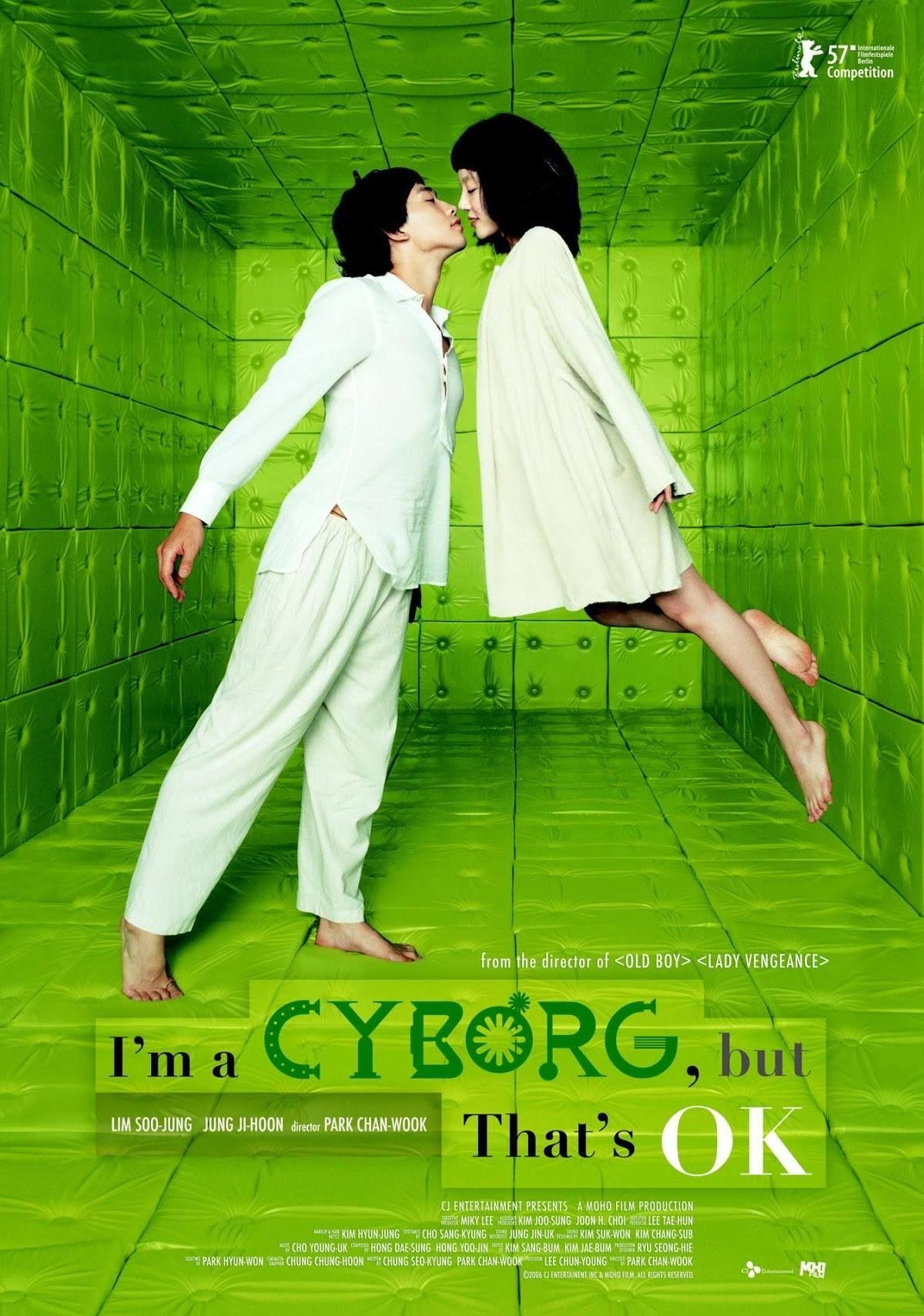 I'm a cyborg, but that's ok (2006) dir. Park Chan-wook ...