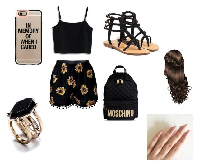 """Summer"" by yannaxoxo ❤ liked on Polyvore featuring Chicwish, Mystique, Moschino and Casetify"
