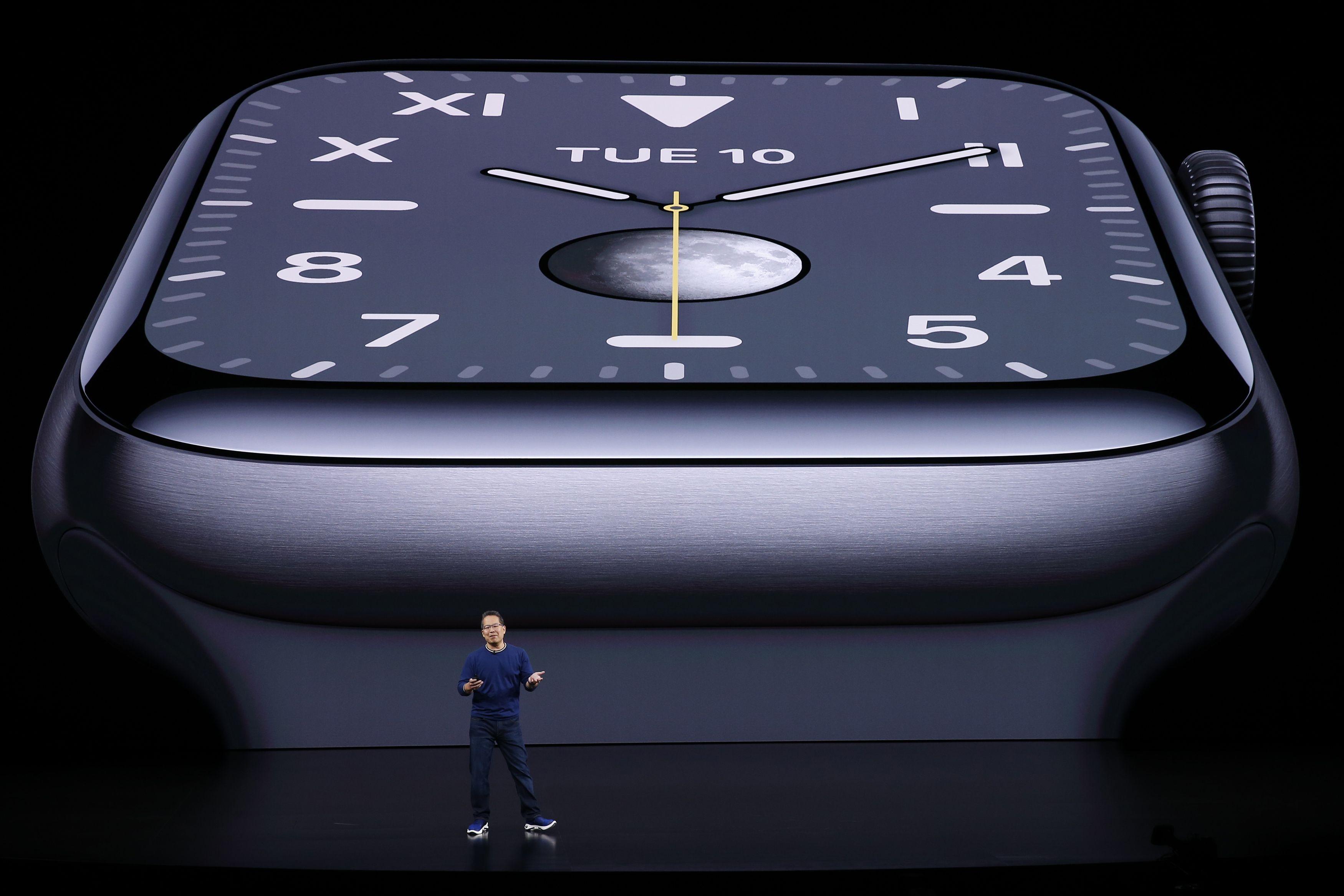 Apple unveils Apple Watch Series 5 with alwayson display