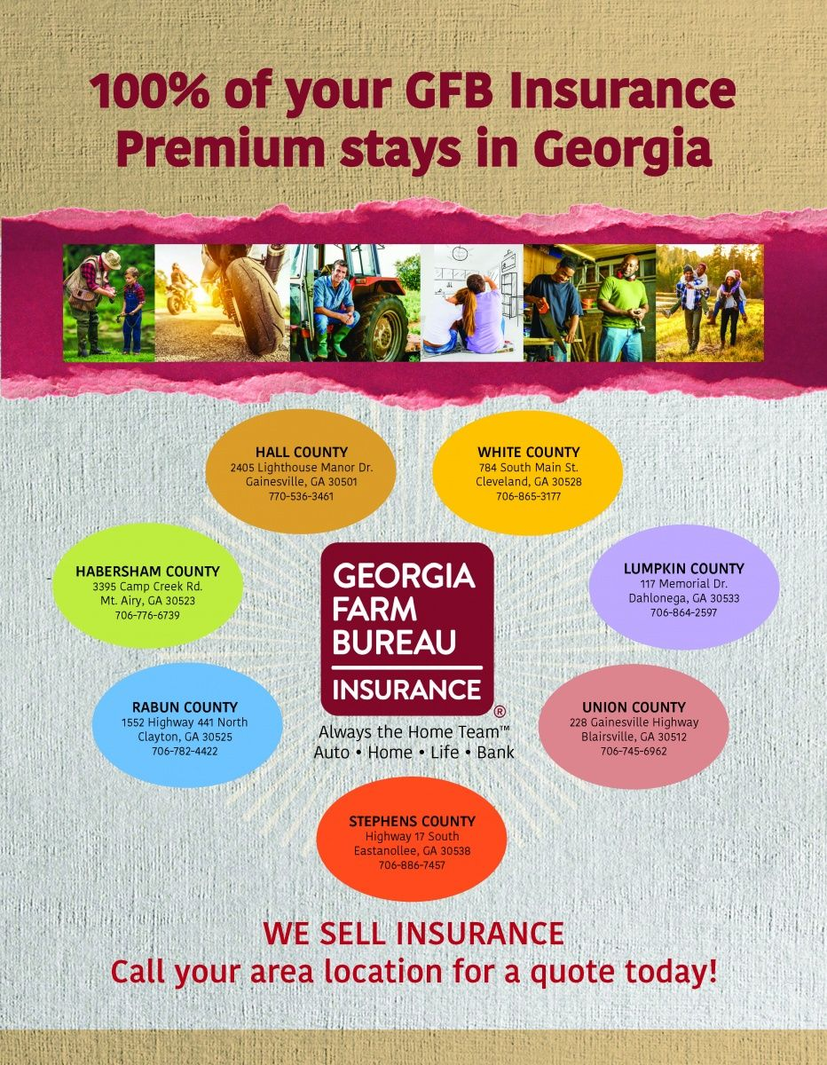 100 Of Your Gfb Insurance Premium Stays In Georgia Always The