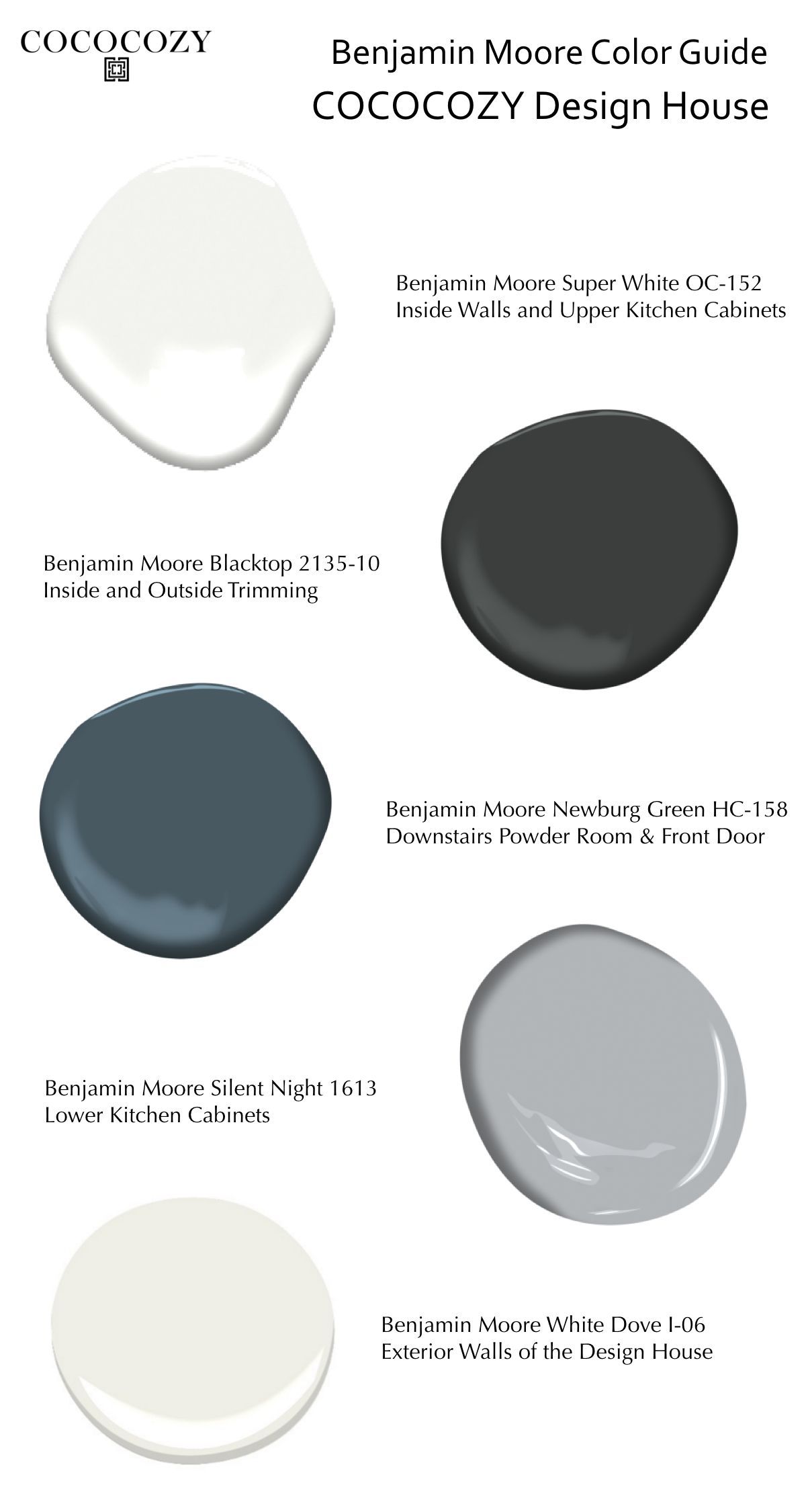 Best Benjamin Moore Interior Paint Refresh Cococozy Design 400 x 300