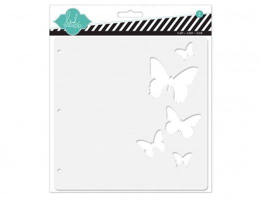 color magic 8 x 8 butterfly album « Heidi Swapp