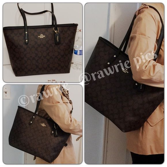 3ae7fd2a good coach signature city tote bag tutorial 385f4 211fe