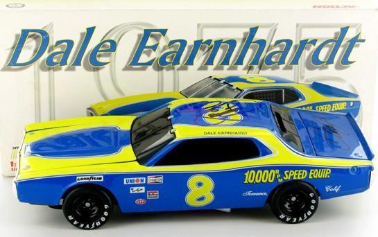 Dale Earnhardt #8 RPM Autographed 1975 Dodge | Dale earnhardt ...