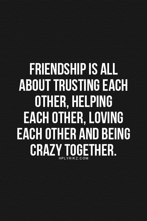 friendship and trust quotes