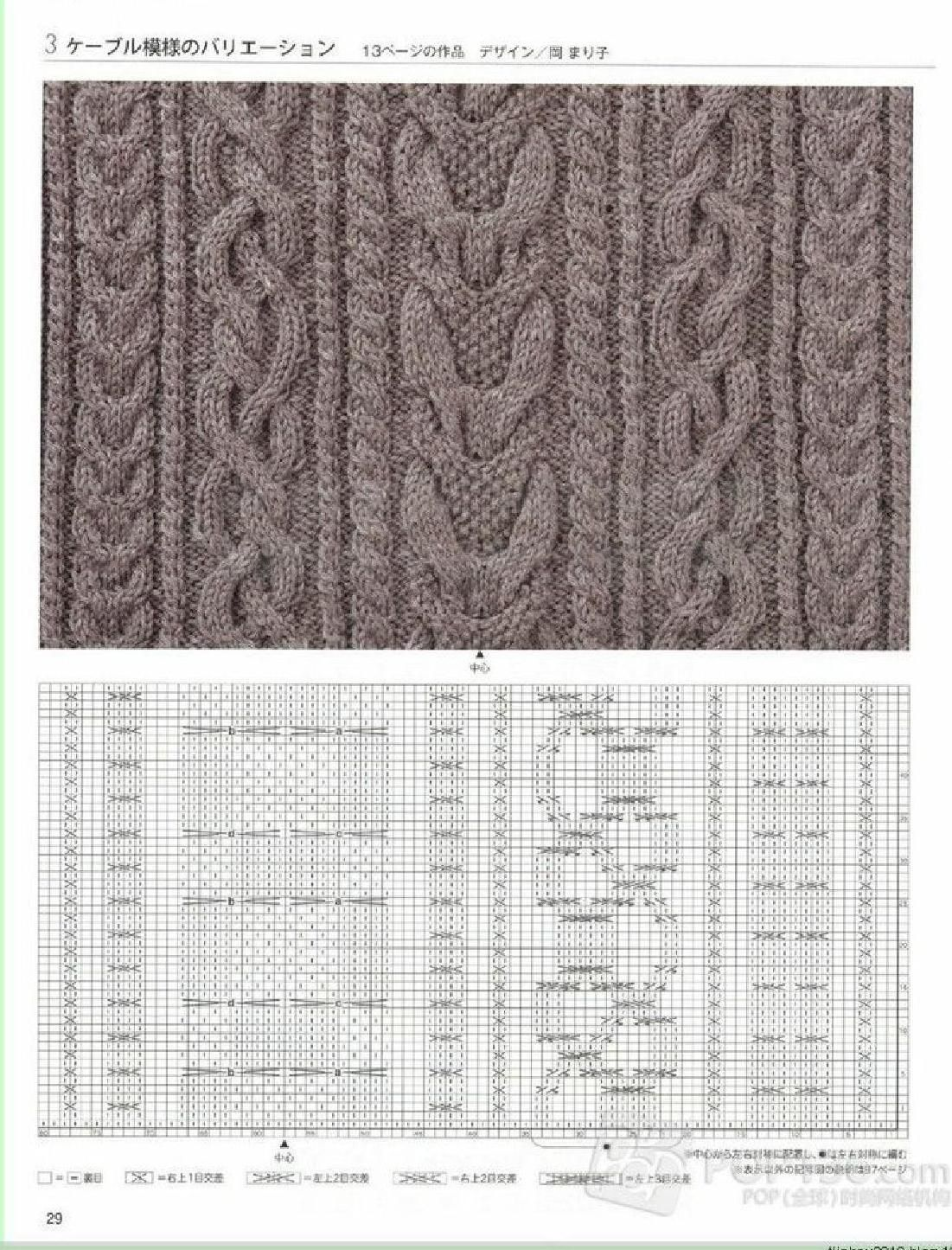 ClippedOnIssuu from Knitting and crochet | rdos. agujas | Pinterest ...