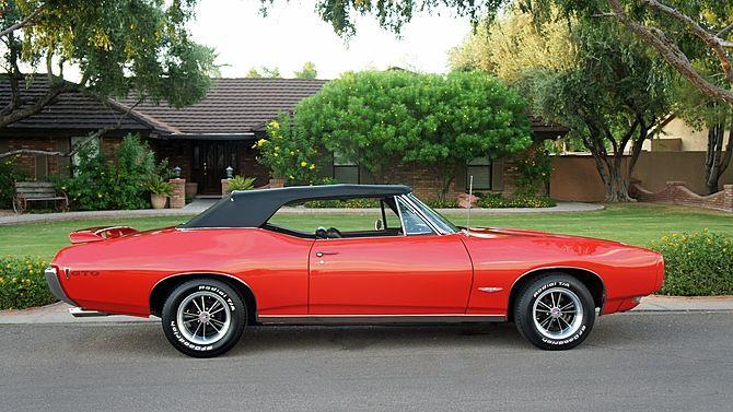 1968 pontiac gto convertible 9 5 14 bid goes on 40k wheels rh pinterest ca