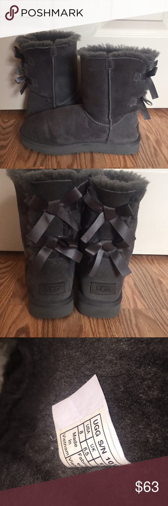 Bailey Bow Uggs Authentic Uggs With Bows Bailey Bow Uggs Uggs