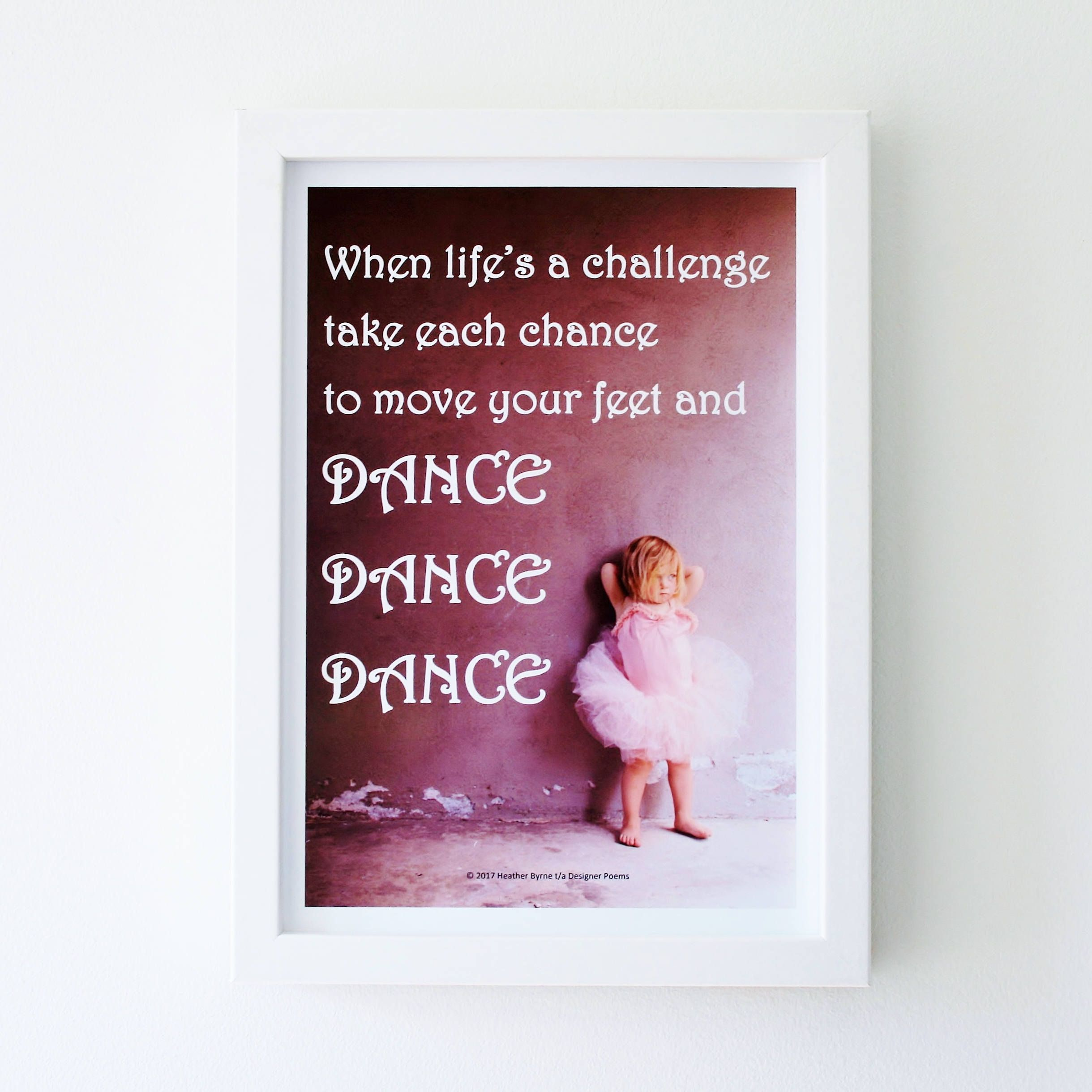 Inspirational Quotes For Little Girl Dancers