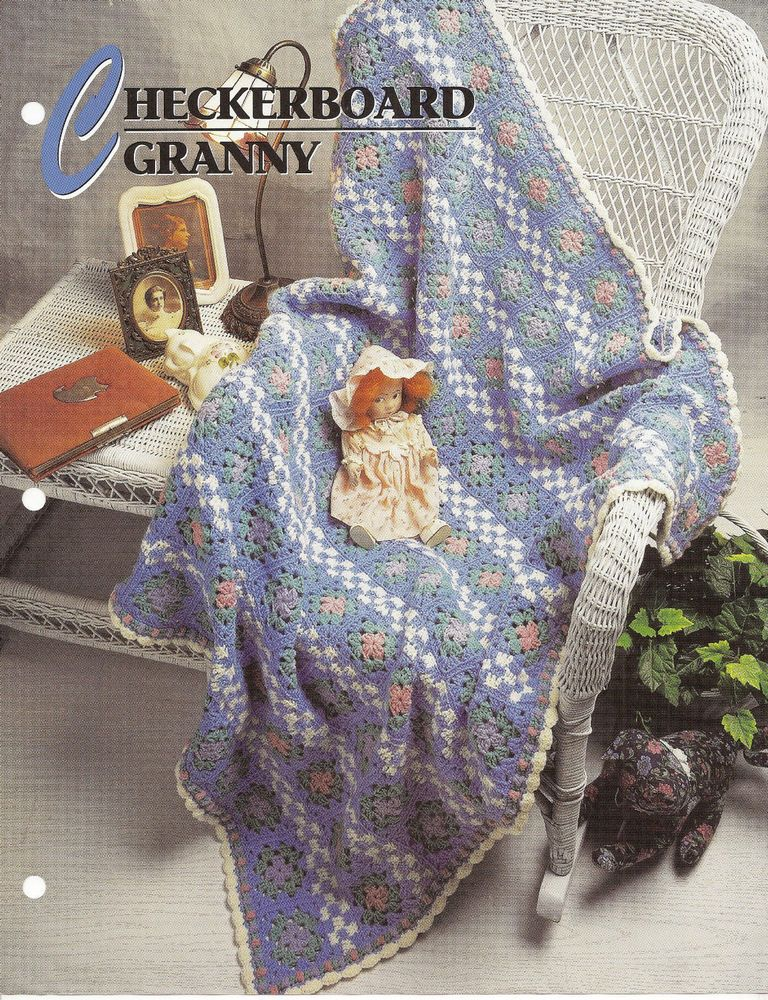 Annie\'s Attic Crochet Quilt & Afghan Club Afghan Patterns 13 To ...