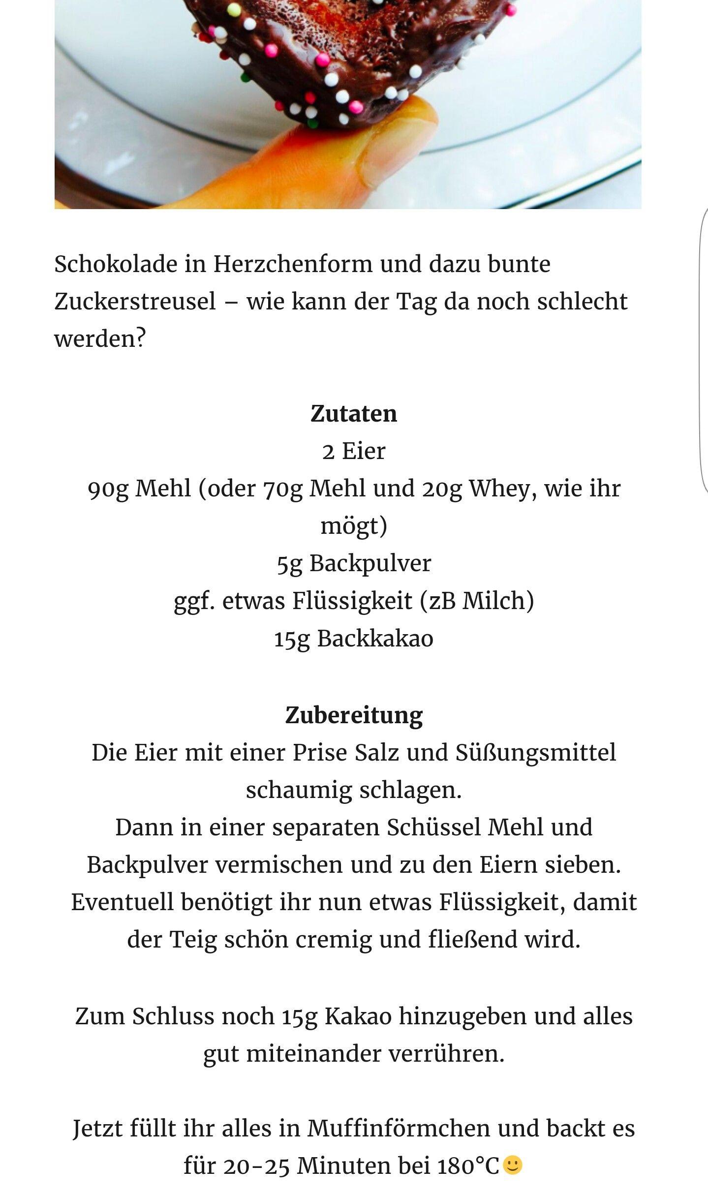 Schokoküchlein