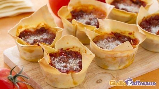 Ricetta Lasagne Cupcake Le Ricette Di Giallozafferanoit Italian