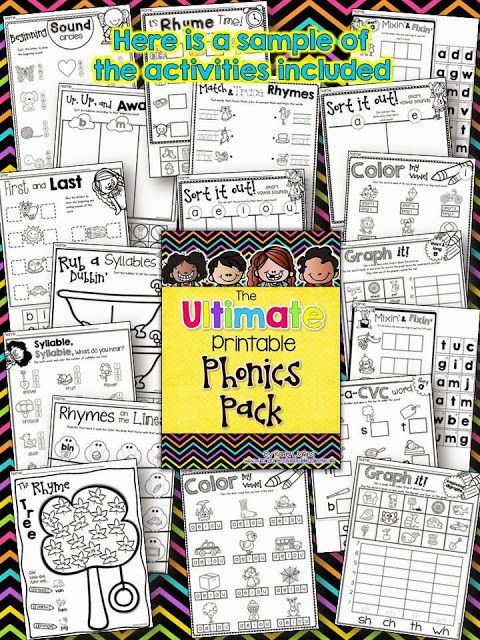 Phonics goodies!