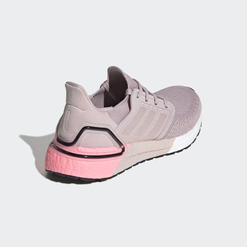Ultraboost 20 Shoes New Rose / New Rose / Light Flash Red EG0725 ...
